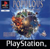 PSX PS1 Populous: The Beginning (2211)