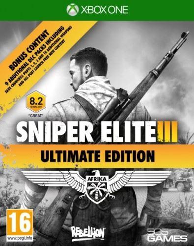 Xbox One Sniper Elite 3 - Ultimate Edition (nová)
