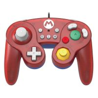 [Nintendo Switch] Drátový Ovladač Hori Super Smash Bros - Mario (nový)