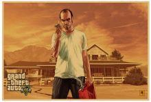 Plakát GTA 5 Grand Theft Auto V - Trevor, retro styl (nový)