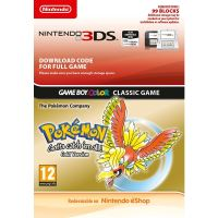 Voucher Nintendo 3DS Pokemon Gold