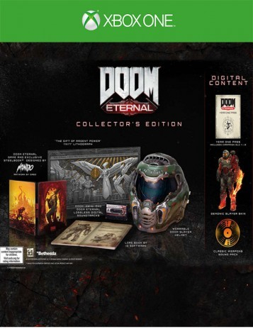 Xbox One Doom Eternal Collectors Edition