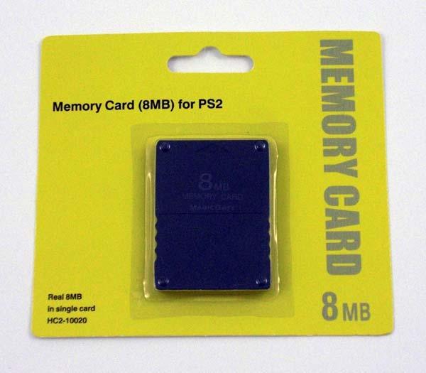 [PS2] Paměťová karta 8MB (nová)