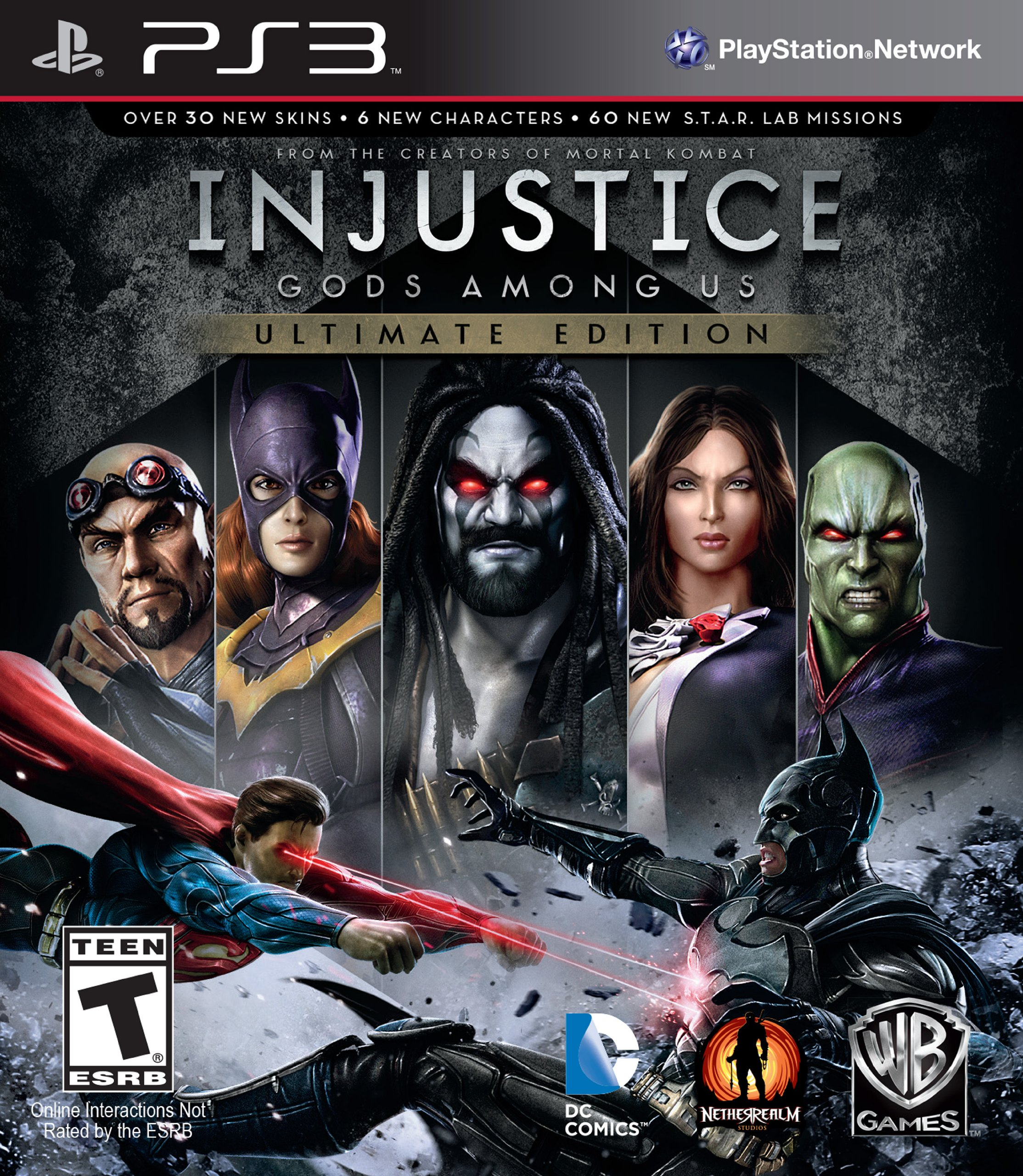 PS3 Injustice Gods Among Us: Ultimate Edition (GOTY) (nová)