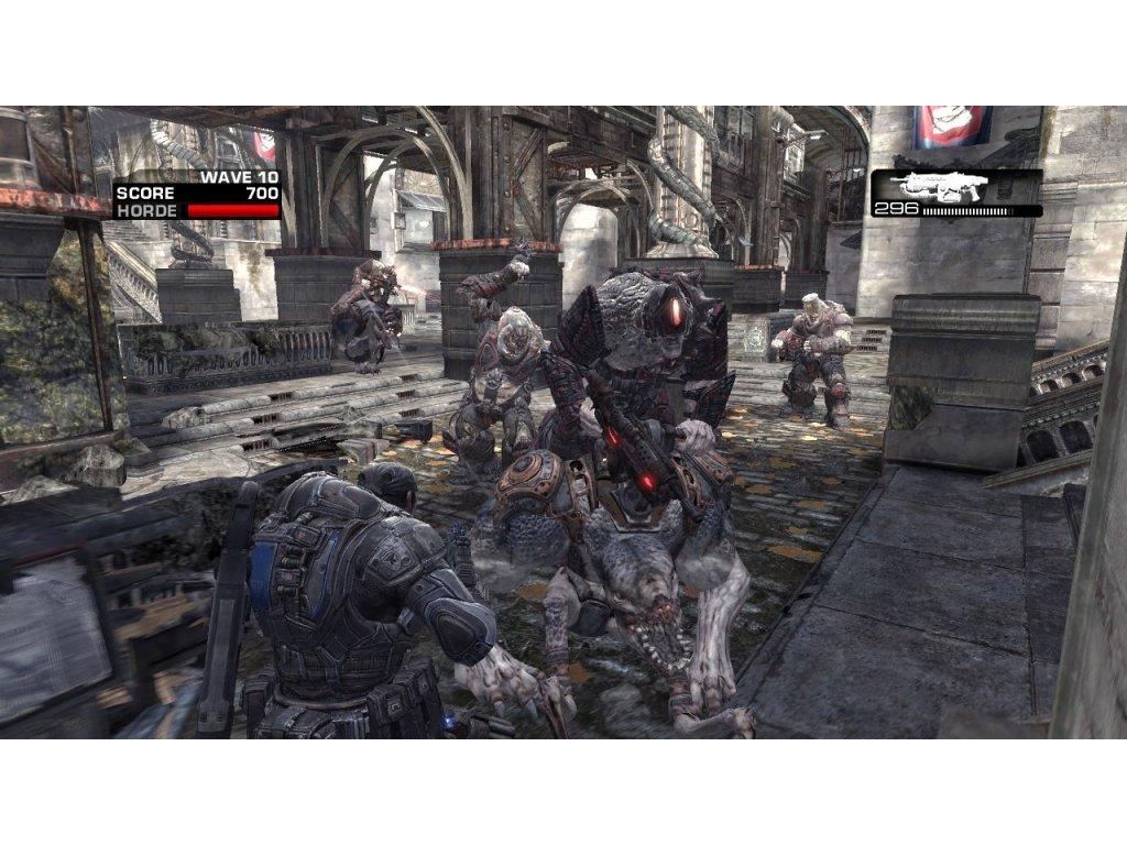 Xbox 360 Gears Of War 2 (CZ)