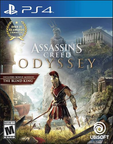 PS4 Assassins Creed Odyssey (CZ) (nová)