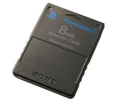 [PS2] Originální paměťová karta Sony 8MB (černá)