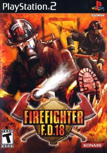PS2 Firefighter F. D. 18