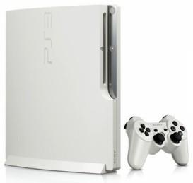 PlayStation 3 Slim 320 GB - biela