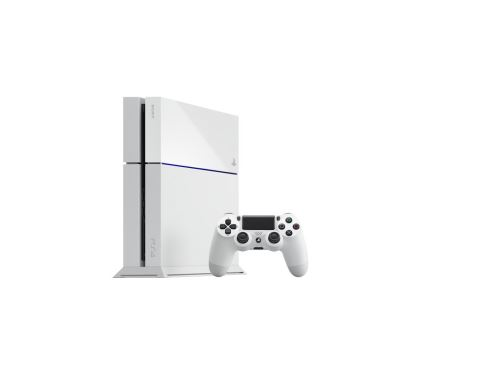 PlayStation 4 500 GB - Bílá edice