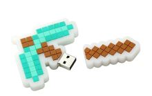 USB 2.0 Flash Disk 32 GB - Minecraft krumpáč (nový)