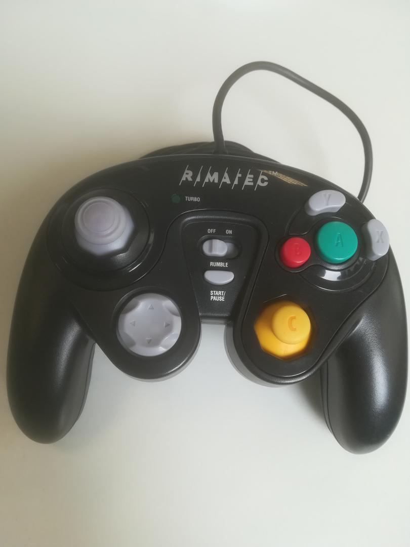 [Nintendo GameCube] Rimatec ovladač - černý