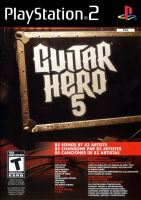 PS2 Guitar Hero 5 (pouze hra)