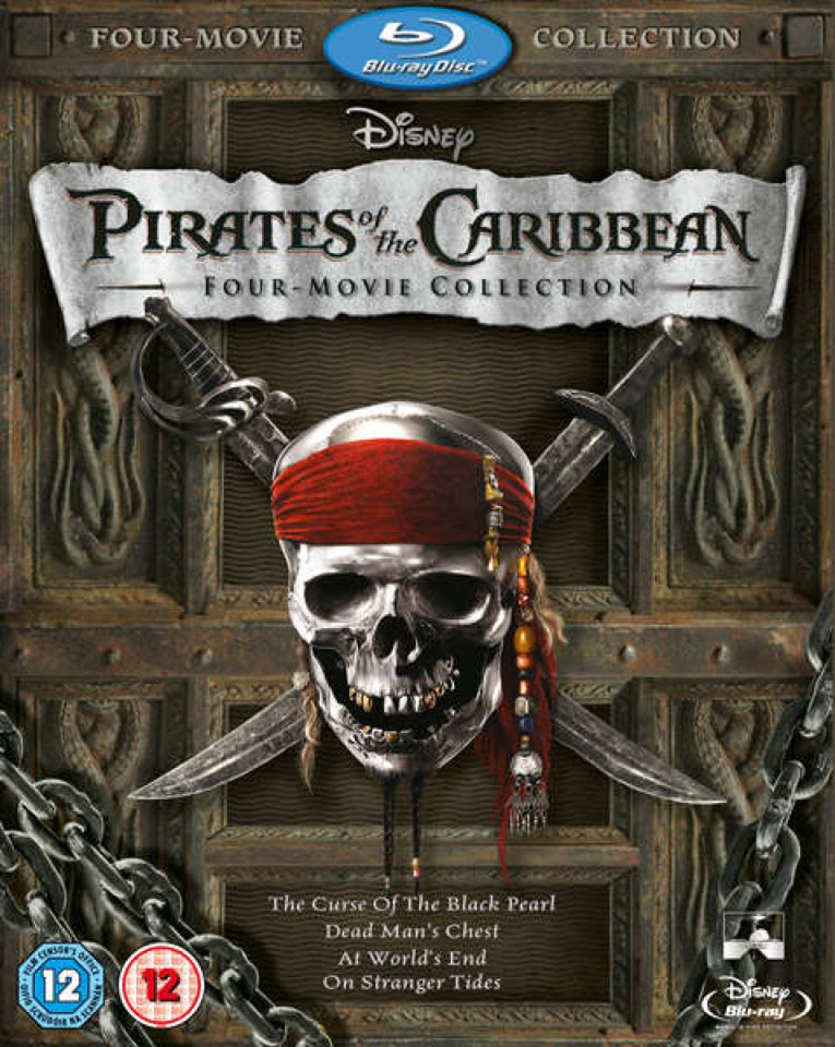 Blu-Ray Film Pirates of the Caribbean: Quadrology Collections - 4 filmy