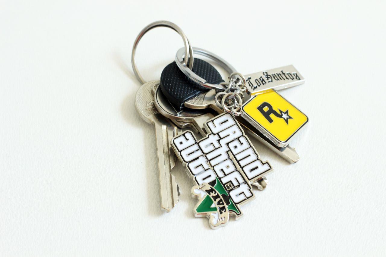Přívěsek na klíče GTA 5 Grand Theft Auto V (nový)
