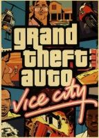 Plakát Grand Theft Auto Vice City (nový)