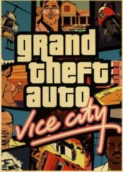 Plakát Grand Theft Auto Vice City (nový)