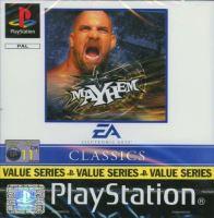PSX PS1 WCW Mayhem (1745)