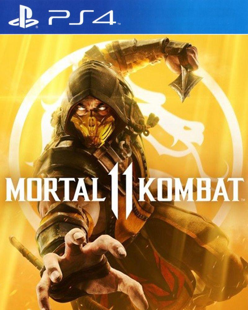 PS4 Mortal Kombat 11 (nová)