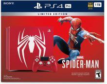 PlayStation 4 PRO 1TB - Spider-Man Limited Edition + originální balení
