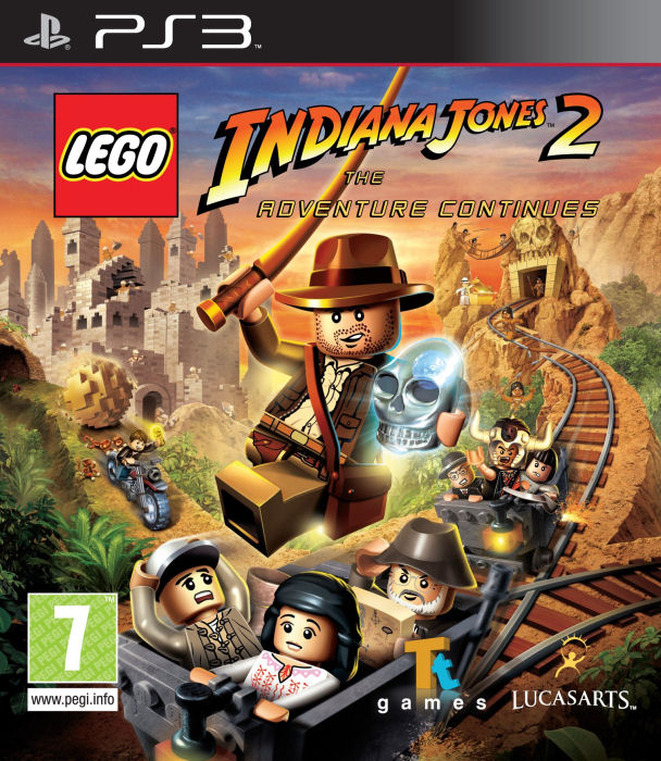 PS3 Lego Indiana Jones 2