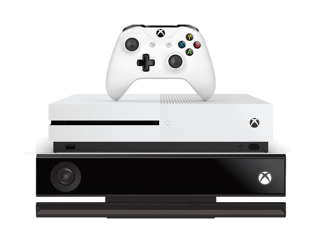 Xbox One S 1TB + Kinect