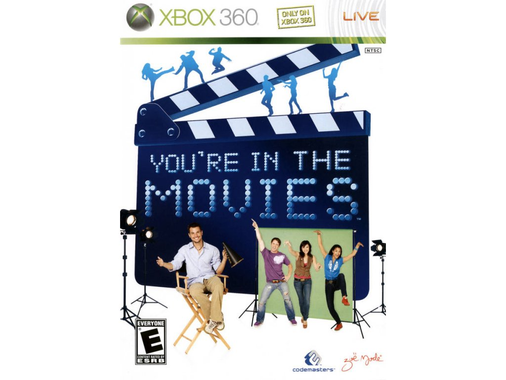 Xbox 360 You're In The Movies (pouze hra)