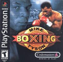 PSX PS1 Mike Tyson Boxing