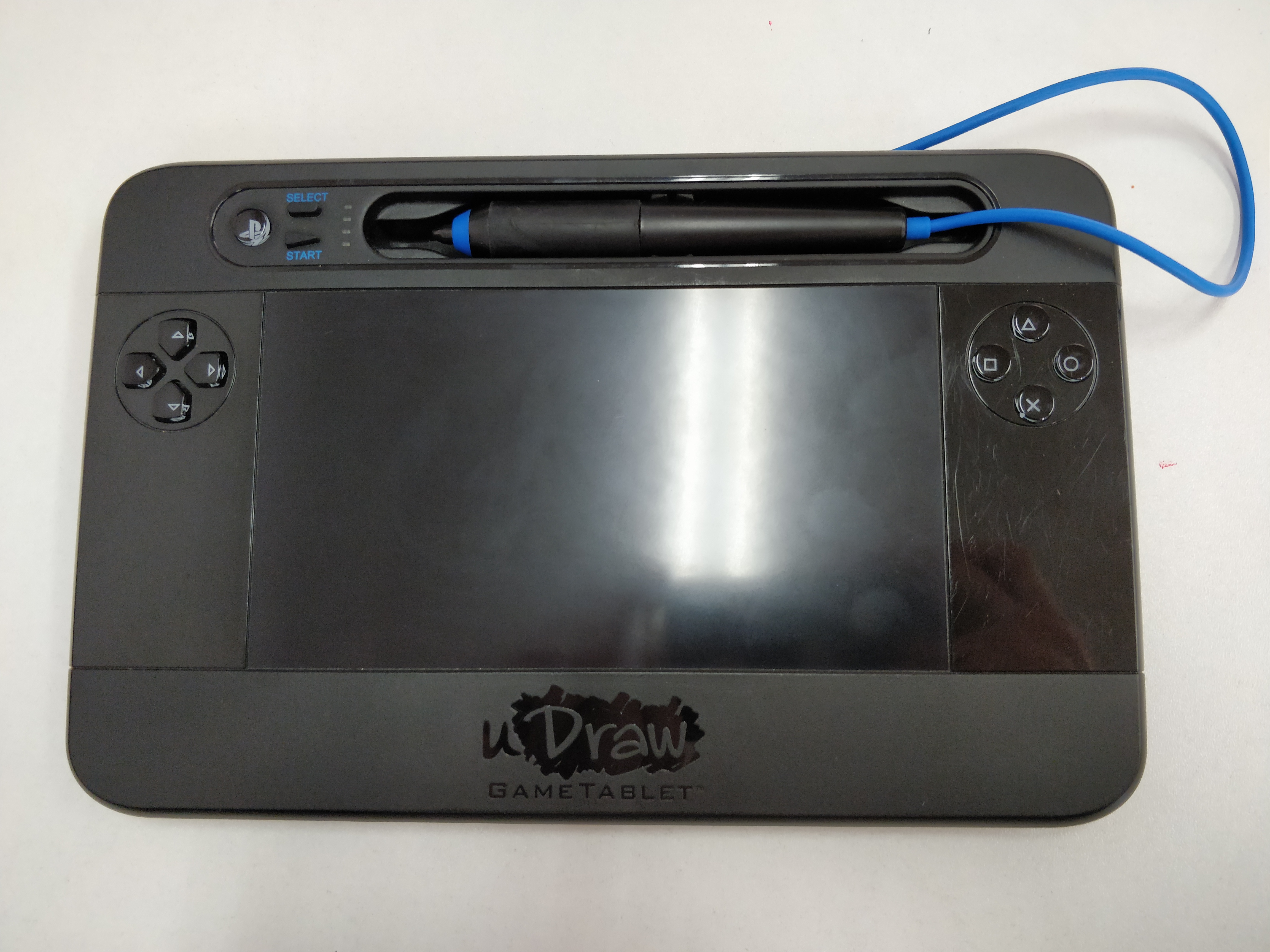 [PS3] Udraw Tablet - černý (estetická vada)