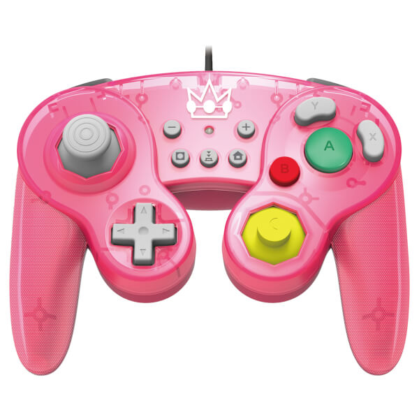 [Nintendo Switch] Drátový Ovladač Hori Super Smash Bros - Peach