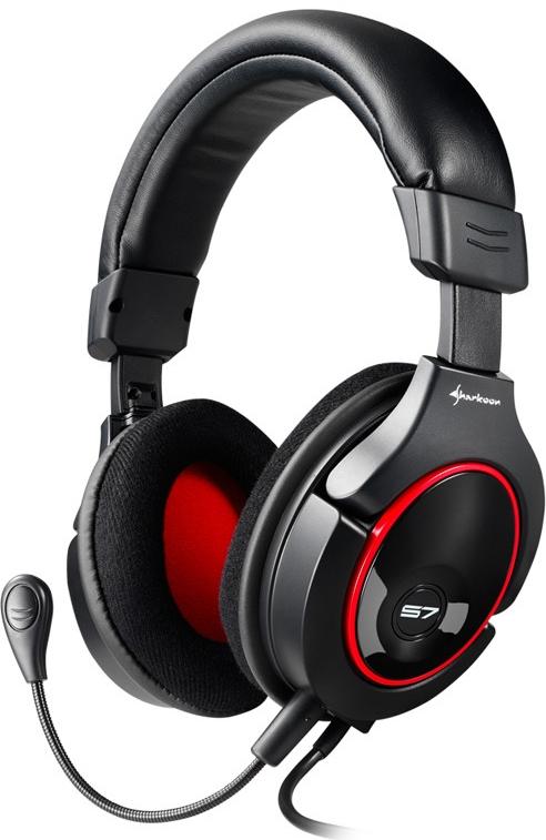 [Xbox 360|PS3|PC] Herní sluchátka Sharkoon X-Tatic S7