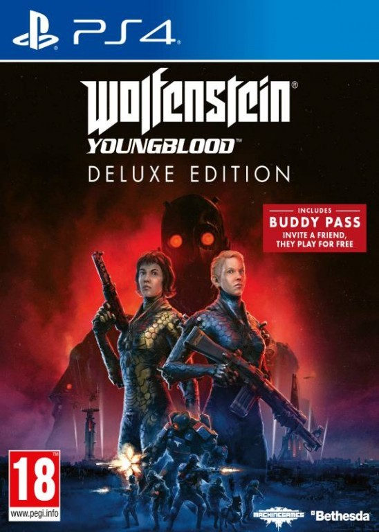 PS4 Wolfenstein: Youngblood - Deluxe Edition
