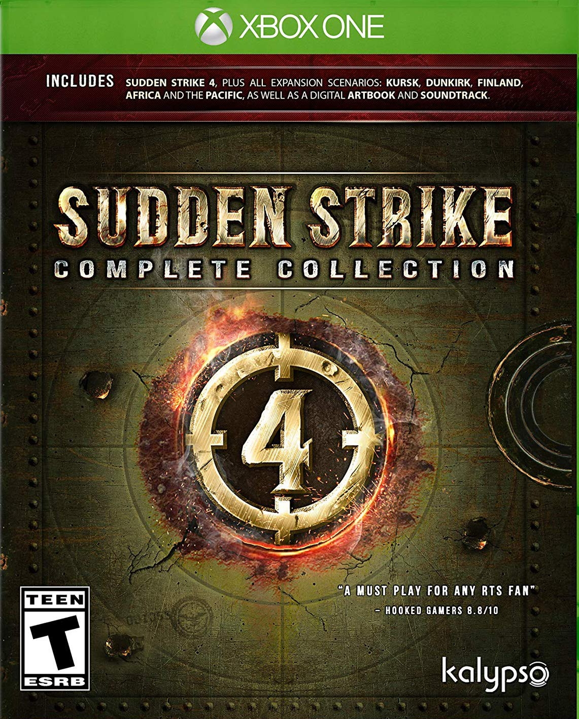 Xbox One Sudden Strike 4 Complete Collection (nová)