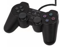 [PS2] Drátový Ovladač Sony Dualshock - černý