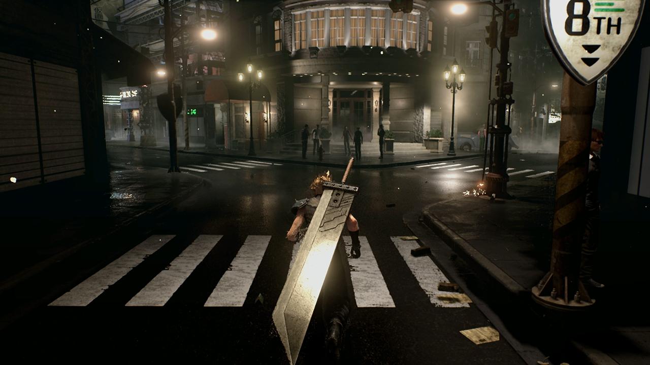 PS4 Final Fantasy VII Remake