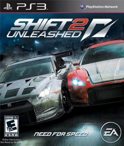 PS3 NFS Need For Speed Shift 2 Unleashed
