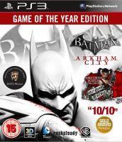 PS3 Batman Arkham Asylum GOTY