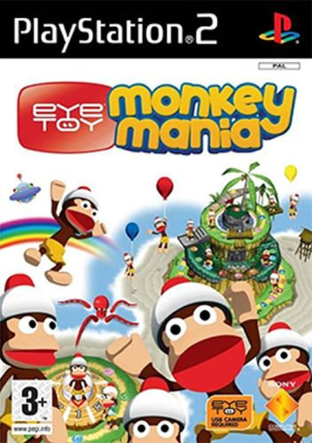 PS2 EyeToy Monkey Mania