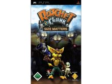 PSP Ratchet and Clank Size Matters