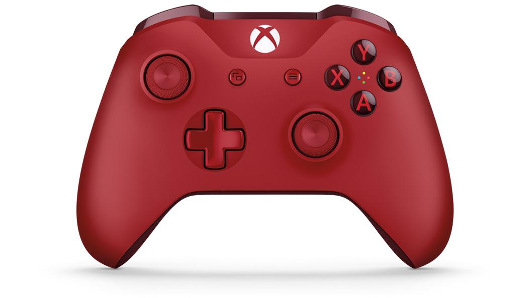 [Xbox One] S Bezdrátový Ovladač - červený (nový)