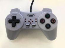 [PS1] Drátový Ovladač ROSS Bez Páček - šedý