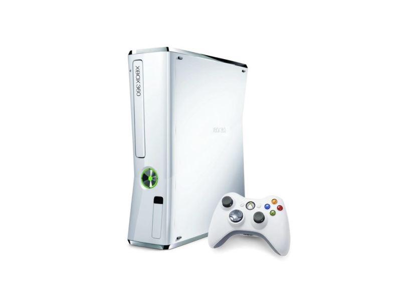 Xbox 360 Slim (Bílý) (LIMITOVANÁ EDICE)