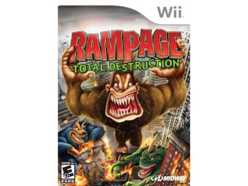 Nintendo Wii Rampage: Total Destruction