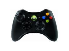 [Xbox 360] Bezdrátový Ovladač Microsoft - černý + balíček her (nový)