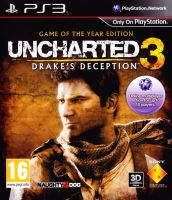 PS3 Uncharted 3 - Drakes Deception: GOTY (Edice hra roku)