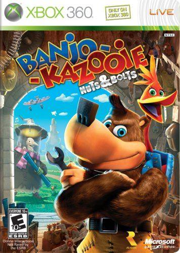 Xbox 360 Banjo-Kazooie Nuts And Bolts (CZ)