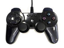 [PS3] Drátový Ovladač Brooklyn - černý (estetická vada)