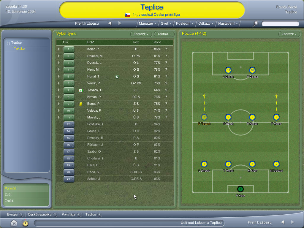 PC Football Manager 2005