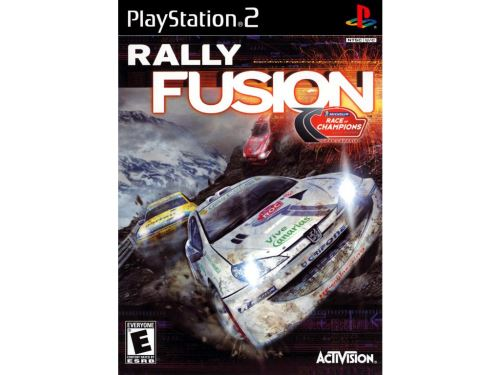 PS2 Rally Fusion: Race of Champions