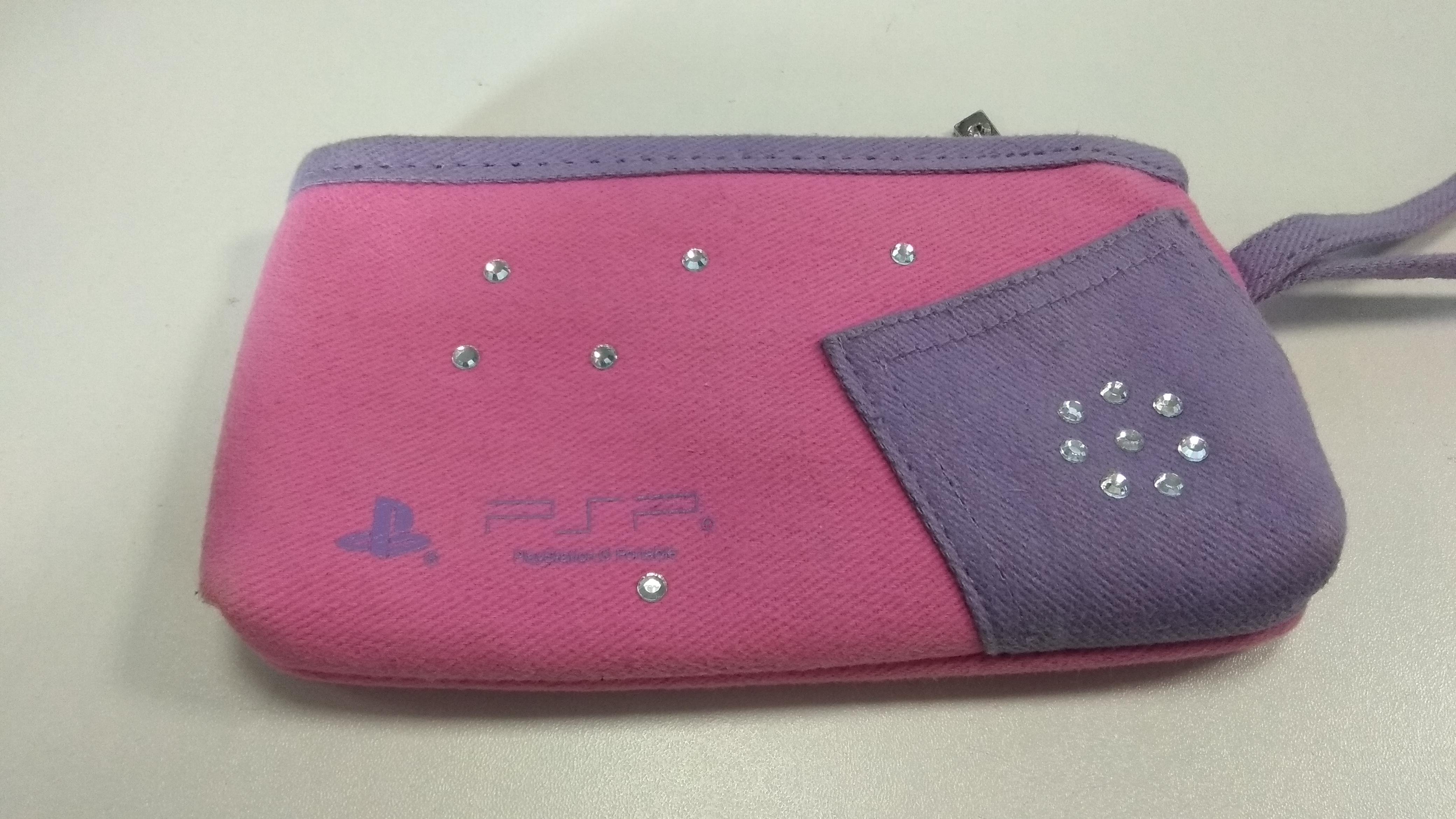 [PSP] Pouzdro Sony - růžové
